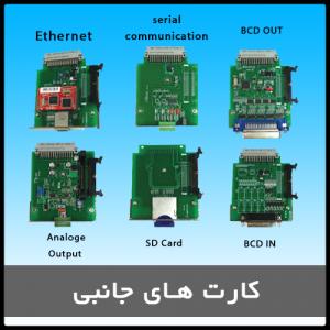 کارت های جانبی PLC